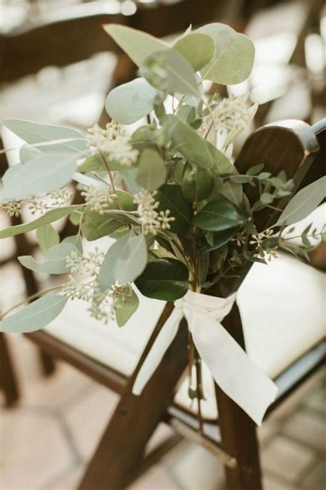 budget friendly simple outdoor wedding aisle decoration
