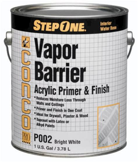 conco p002 interior vapor barrier primer and finish 1 gal at menards 174