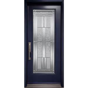 full glass entry door exterior door with cachet full glass insert novatech