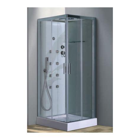 cabina idromassaggio 80x80 box doccia idro massaggio