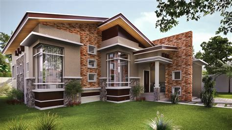 house design on modern single storey house designs bungalow modern house