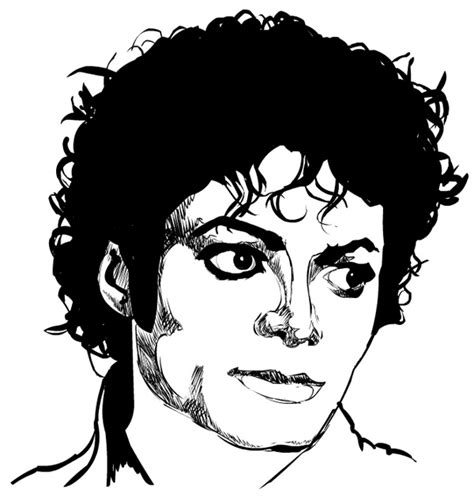mj thriller coloring pages