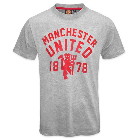 tshirt manchester united 2 manchester united fc official football gift mens t