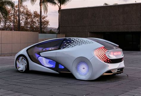 Toyota 2020 Autonomous Driving by Toyota Concept I Future Vehicles That Can Understand Your
