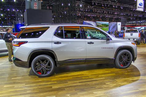 chevrolet traverse redline edition review top speed