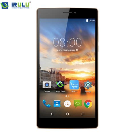 Touchscreen Cross Android 5 aliexpress buy irulu victory v3 msm8916 6 5 inch 1280 720 hd touch screen