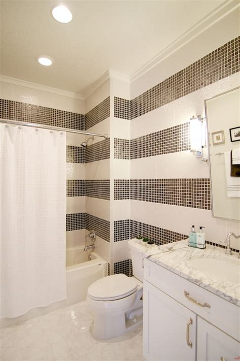 striped wallpaper for bathrooms striped bathrooms 28 images decoration wallpaper for