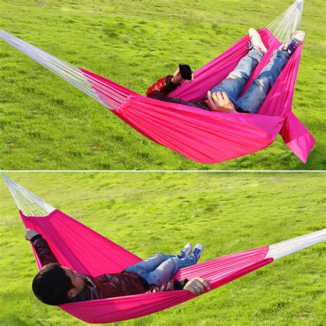 travel cing outdoor hammock parachute bed hanging