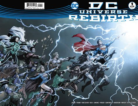Dc L by Preview Vo Dc Universe Rebirth 1 Dcplanet Fr