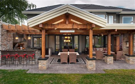 Exterior Kitchen | backyard design outdoor kitchen ideas interior design