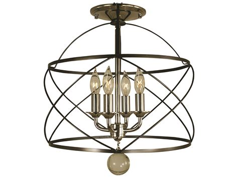 Nantucket Ceiling Light Framburg Nantucket Four Light 13 Wide Semi Flush Mount Light Rm4411