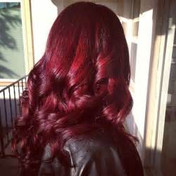 pictures of hair color mahogany hair color inspirations trend to wear