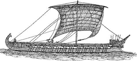 navi persiane la battaglia di cuma su rasna