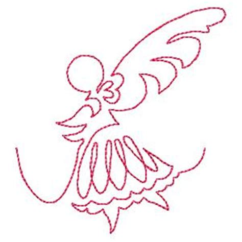 Continuous Line Quilting by Continuous Line Fairies Quit Embroidery Designs