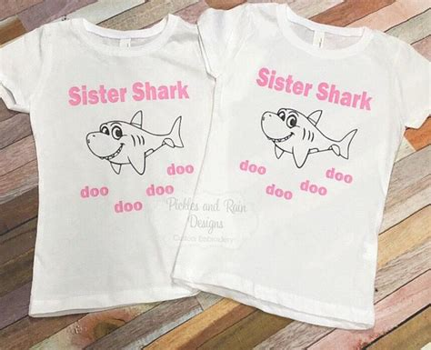 baby shark shirt sister shark shirt baby shark shirt baby shark doo doo