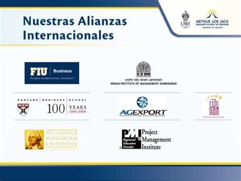 Arthur Lok Mba Ranking by Presentaci 243 N Escuela De Negocios Arthur Lok Y