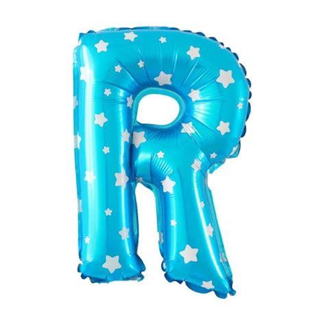 Balon Foil Huruf Hitam Balon Hbd Hitam Balon Huruf Hbd harga spesifikasi foil balon huruf r biru motif bintang