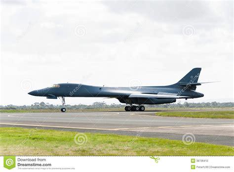 B1 On rockwell b1 bomber stock photo image 38736410