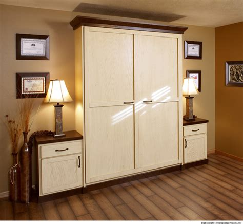 Showplace Cabinets Murphy Wall Beds Traditional Home Home Office Wall Cabinets