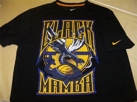 Nike Tshirt Black Mamba la los angeles lakers nba t shirt l nike dri fit