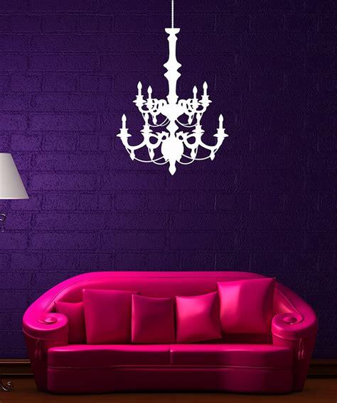 White Chandelier Decal decordesigns white chandelier wall decal pink pink and white chandelier