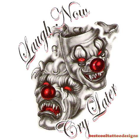 tattoo joker old school clown joker tattoo designs best cool tattoo designs