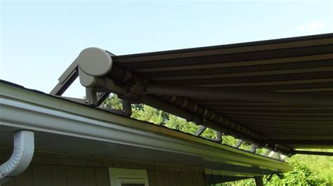 roof mounted retractable awning roof mount retractable awning retractable awnings