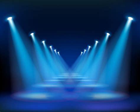 Lu Sign Mobil Led blue carpet blue led light on the stage www audio