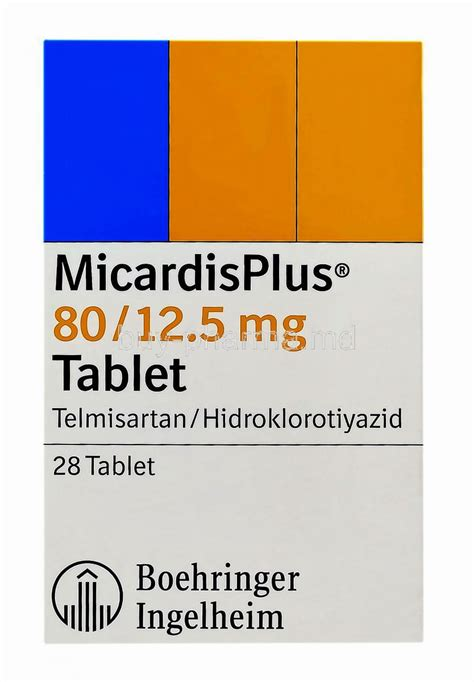 Obat Hct micardis plus 80 12 5 glucophage 850 mg ne i蝓e yarar