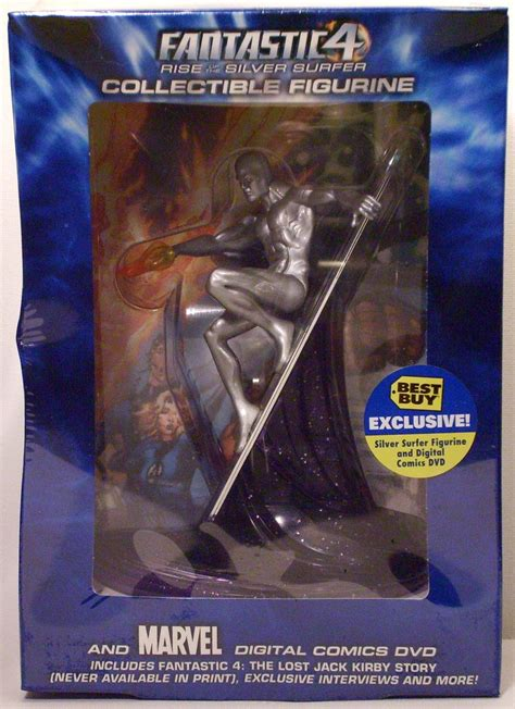 best buy actions silver surfer best buy exclusive statue dash