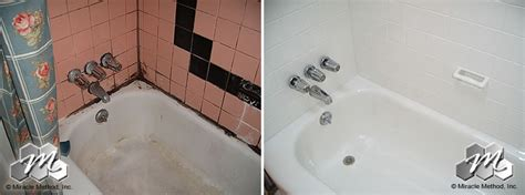 how much to refinish bathtub how much does it cost to refinish my tub and tile compared