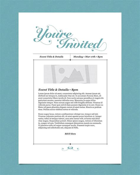 25 Email Invitation Templates Psd Vector Eps Ai Free Premium Templates Free Email Announcement Template