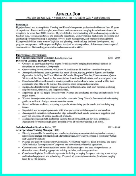 Catering Manager Resume by Catering Manager Resume Eezeecommerce