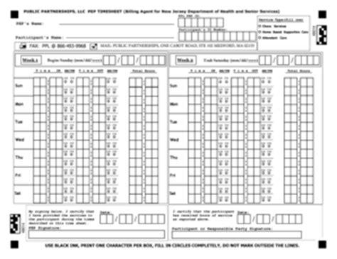 Ppl Printable Time Sheets | fillable online public partnerships llc pep timesheet