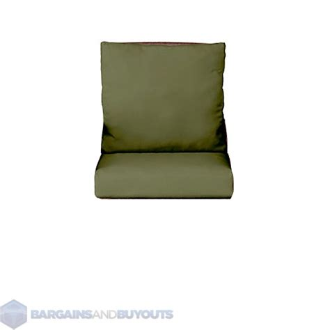 Patio Chair Cushions 20 X 22 Seat Cushion Set 20 1 2 Quot X22 1 2 Quot X5 Quot Back 22 Quot X23 Quot X5