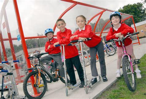 Bike Rack School by Rushcombe School