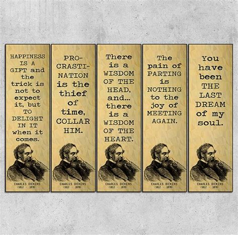 printable bookmarks with quotes from books printable bookmarks charles dickens quotes by