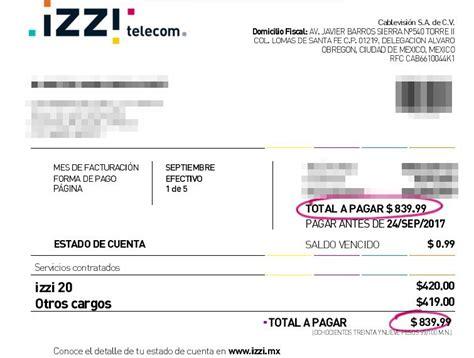 estados de cuenta izzy izzy mx mi cuenta factura izzi est 225 fallando o ca 237 do