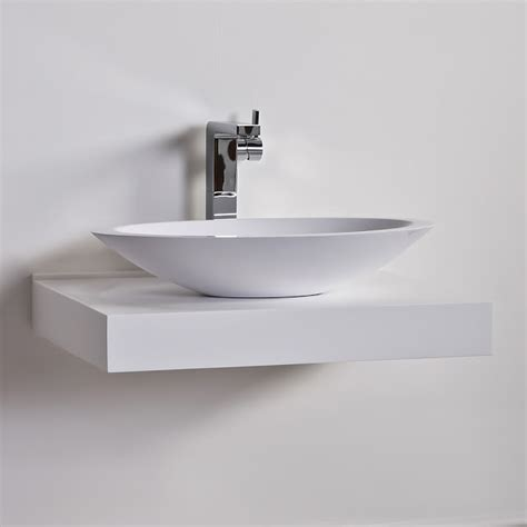 Floating Basin Shelf by The Paper Mulberry Bathrooms Lusso