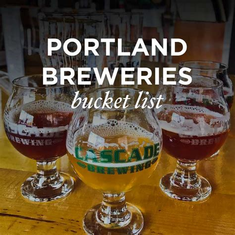 To Handcrafted Beers Made In Local Breweries - ultimate portland breweries list 187 local adventurer