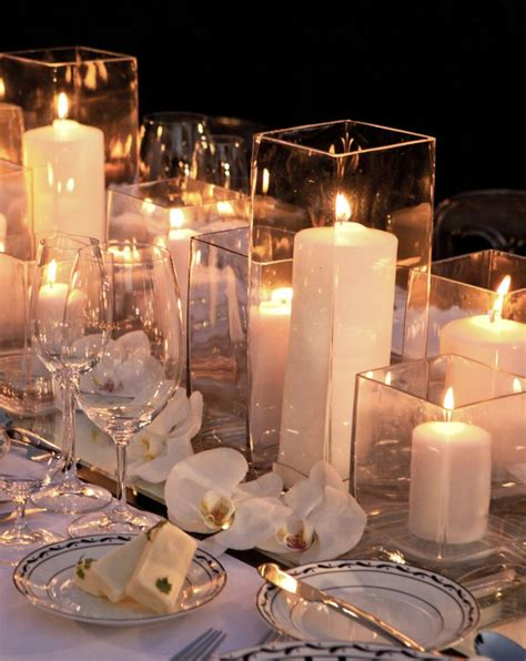 reception decor once wed elegant table settings gold 49 best candle table centerpiece ideas images on pinterest