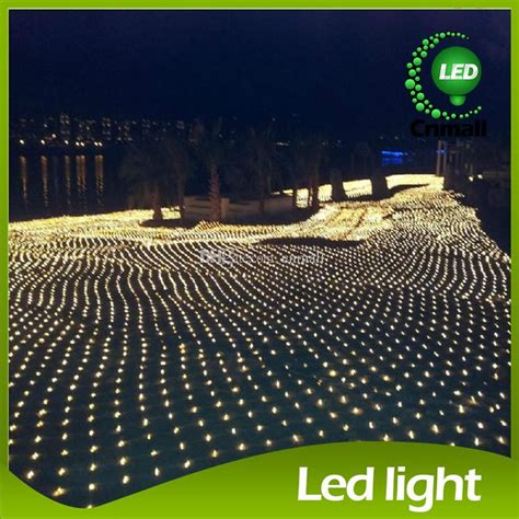 8m 10m led net light led net string light led curtain
