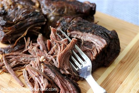 slow cooker beef roast pocket change gourmet