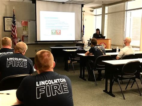 lincolnton fire department opioid overdose drug training for lincolnton fire
