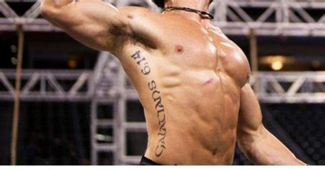 rich froning tattoo christian crossfit chion rich froning bible verse