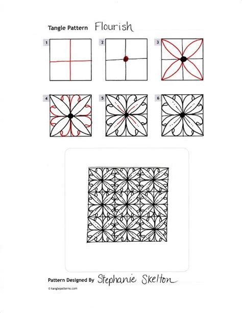 doodle tutorial 17 best images about zentangle step by step on