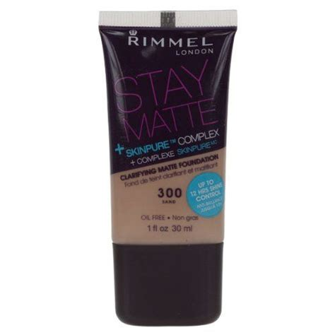 Foundation Stay Matte rimmel stay matte clarifying matte foundation reviews photos ingredients filter reviewer age