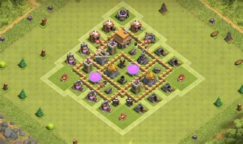 coc layout rh5 5 epic town hall 5 war base layouts farming base layouts