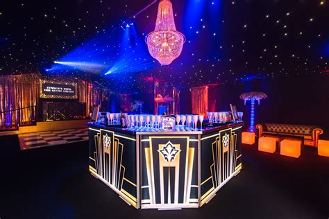 the great gatsby theme night discover our 1920s island bar for a great gatsby themed