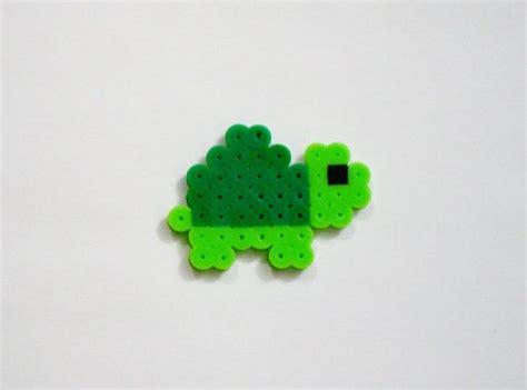 turtle perler baby turtle green kawaii perler zoo animals